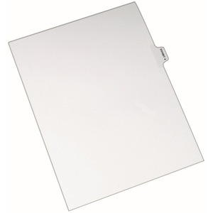 Avery Individual Side Tab Legal Exhibit Dividers AVE82324