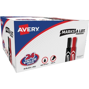 Avery Marks-A-Lot Permanent Markers Bonus Pack AVE98187