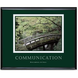 Communication Framed Poster