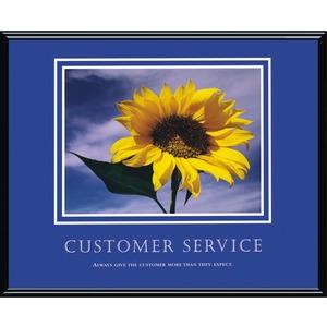 Customer Service Framed Print