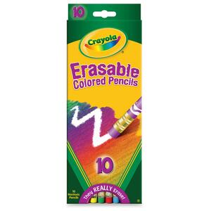 Crayola Erasable Colored Pencil CYO684410