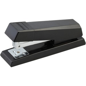 Bostitch AntiJam Half-Strip Desktop Stapler - Desktop Stapler - 105 Staple Capacity - Black