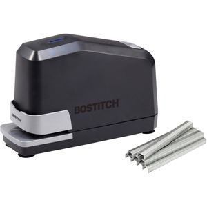 Bostitch AntiJam Electric Stapler - Electric Stapler - 45 Sheets Capacity - 210 Staple Capacity - 1/4&quot; Staple Size - Black