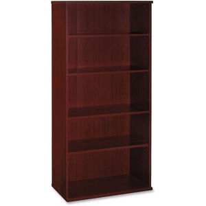 bbf Series C Open Double Bookcase BSHWC36714