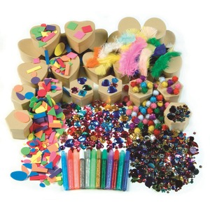 ChenilleKraft Paper Mache Classroom Boxes Kit CKC1721