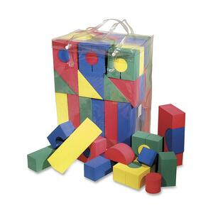 ChenilleKraft Wonderfoam Blocks - 68 Shape - Foam - Multicolor