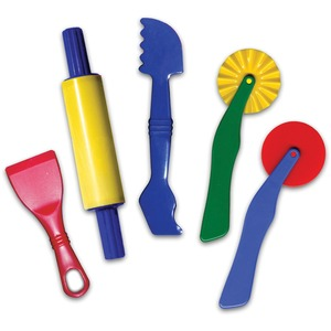 ChenilleKraft Clay Dough Tool Set - 5 Piece(s) - Multicolor