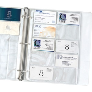 Business Card Refill Pages
