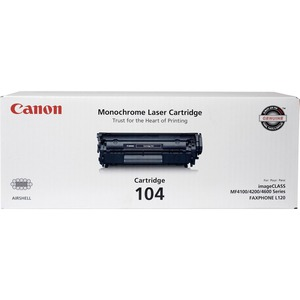 Canon Black Toner Cartridge - Laser - 2000 Page - Black