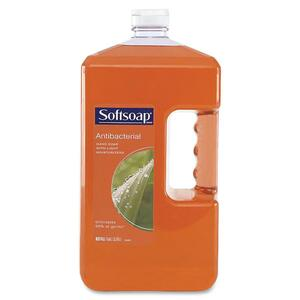 Softsoap Antibacterial Liquid Soap Refill - 1gal - Anti-bacterial - Light Brown - 1 Each