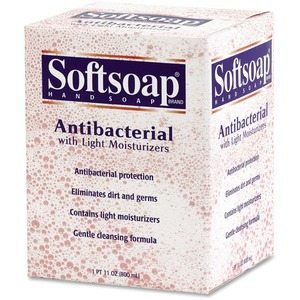 Softsoap Antibacterial Liquid Soap - Fresh Scent - 800mL - Anti-bacterial, Moisturizing