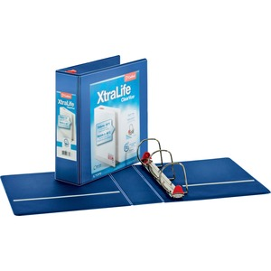 Cardinal XtraLife ClearVue Non-Stick Locking Slant-D Ring Binder CRD26332