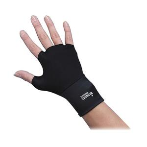 Dome Handeze Therapeutic Gloves - Medium Size - 1 Pair - Black