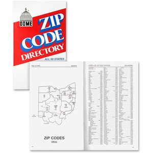 Dome Zip Code DirectoryDirectory Printed Book DOM5100