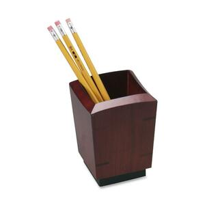 Black. Cherry. Pen/Pencil Holder