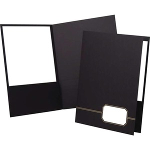 Black . Gold . Pocket Portfolio