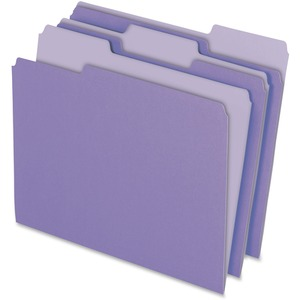 Pendaflex Two-Tone Color File Folder ESS15213LAV