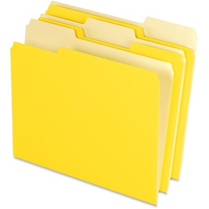 Pendaflex Two-Tone Color File Folder ESS15213YEL
