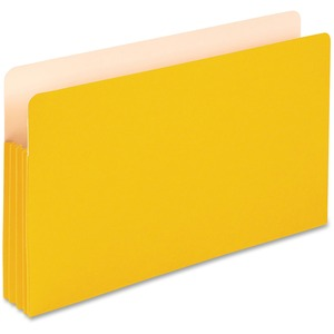 "Esselte Pendaflex Colored Expanding File Pocket - 3.5"" Expansion - 8.5"" x 14"" - Legal - 1 Each - Yellow"