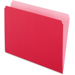 Pendaflex Two-Tone Color File Folder ESS152RED