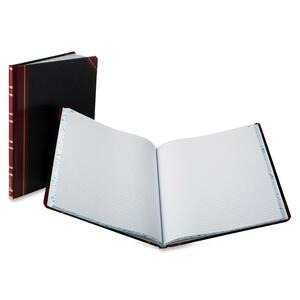 "Esselte Faint Rule Columnar Book - 300 Sheet(s) - Thread Sewn - 12.25"" x 10.12"" Sheet Size - White - 1Each"