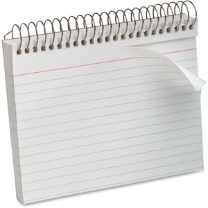 "Oxford Spiral-Bound 5"" x 8"" Index Cards ESS40284"