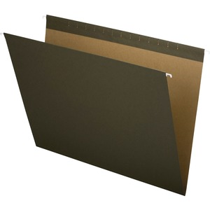 "Esselte Hanging Files Folders14"" x 18"" - 25 / Box - Green"