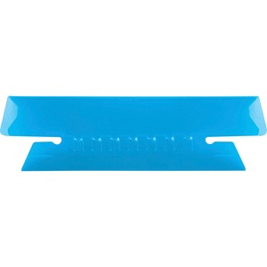 Esselte Plastic Hanging File Folder Tabs - 25 x Tab - 3 Tab(s)/Set - 25 / Pack - Blue Tab