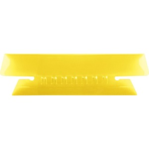 Esselte Plastic Hanging File Folder Tabs - 25 x Tab - 3 Tab(s)/Set - 25 / Pack - Yellow Tab