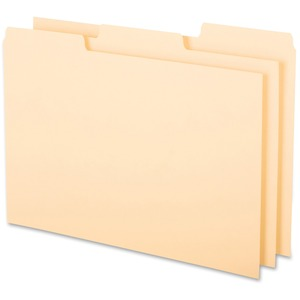 Esselte 1/3 Cut Blank Tab Index Card Guide ESS513BUF