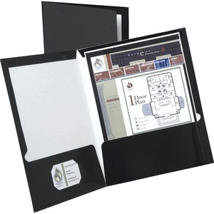 Oxford Laminated Twin Pocket Folders ESS51706