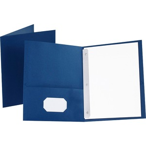 Oxford Twin-Pocket Folders with Fasteners ESS57702