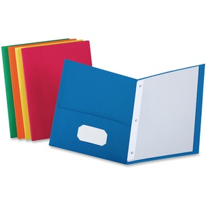 Oxford Twin-Pocket Folders with Fasteners ESS57713