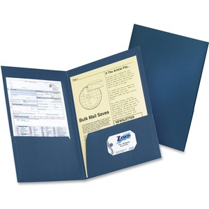 Blue Pocket Folder