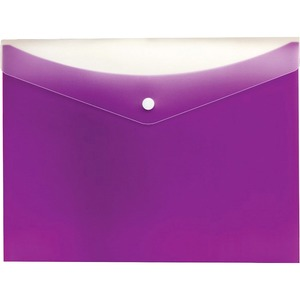 10/Pack Vinyl File Pocket