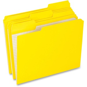 Yellow Top Tab File Folder