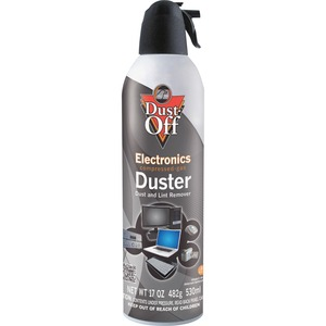 Falcon Dust-Off DPSJMB Jumbo Disposable Duster - Cleaning Spray - Gray