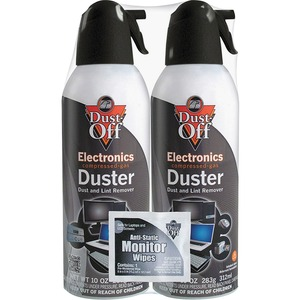 Falcon Dust-Off DSXLPW XL Compressed Gas Duster - Cleaning Spray