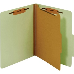 Globe-Weis Letter Classification Folder With Divider GLWPU41GRE