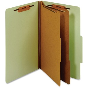 Globe-Weis Classification Folder With Divider GLWPU64GRE