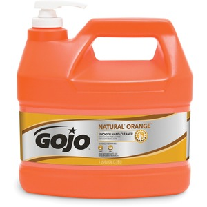 Gojo Natural Orange Smooth Heavy-duty Hand Cleaner - Citrus Scent - 1gal - Orange