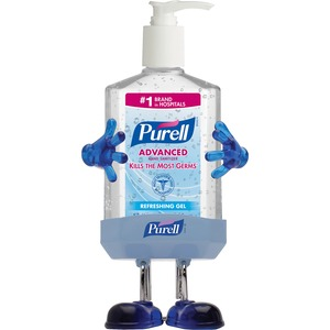 Gojo PURELL Hand Sanitizer Pal - 8fl oz - Pump Bottle Dispenser - Moisturizing - 1 Kit