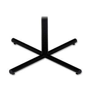 "Iceberg OfficeWorks Round Base x 29"" - Black Base"