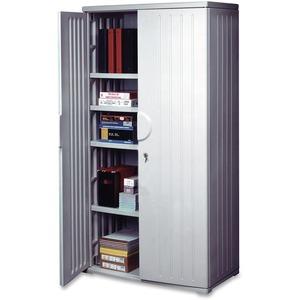 Officeworks 4-Shelf Storage Cabinet