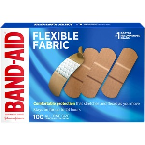 Band-Aid Flexible Fabric Adhesive Bandage JOJ4444