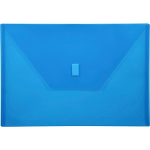 Lion Design-R-Line Poly Envelope - 210&quot; x 297&quot; - A4 - 1 Each - Blue