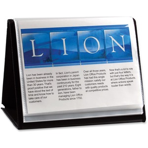 Lion Flip-N-Tell Display Easel Book LIO39008