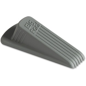 Gray Wedge Doorstop