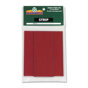Magna Visual Magnetic Write-on/Wipe-off Strips MAVPMR723