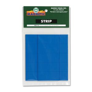 Magna Visual Magnetic Write-on/Wipe-off Strips MAVPMR725